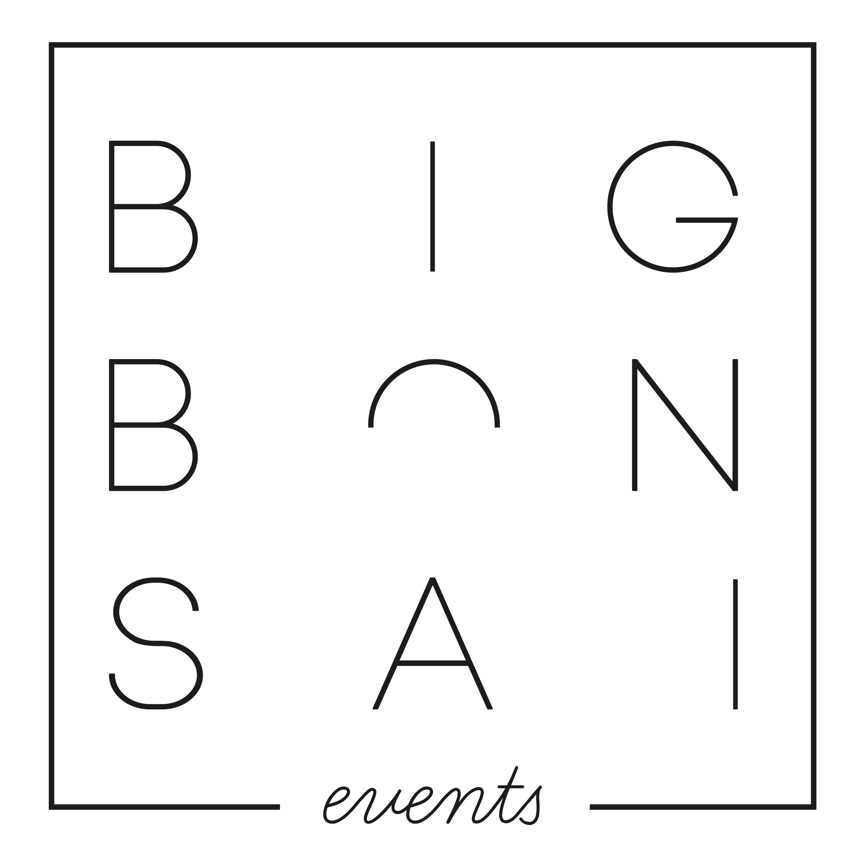 Big Bonsai Events